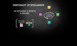Heratibility of Intelligence