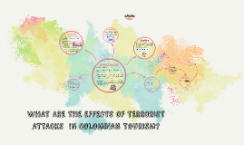 WHAT ARE THE EFFECTS OF TERRORIST ATTACKS  IN THE COLOMBIAN