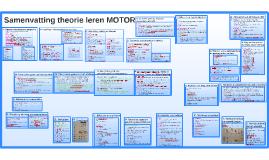 Samenvatting theorie leren MOTOR