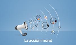 La acción moral