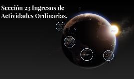 Copy of Ingresos de Actividades Ordinarias, Sección 23 NIIF para Pymes
