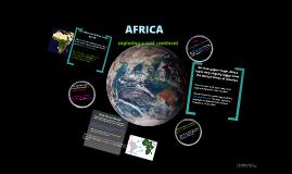 Africa: Exploring a vast continent