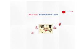 Copy of MCAI 16-17. BENVINGUDA
