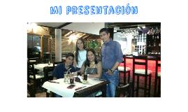 Mi presentación
