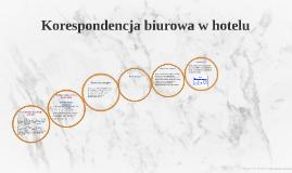 Copy of Korespondencja biurowa