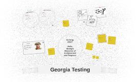 Copy of Georgia Milestones