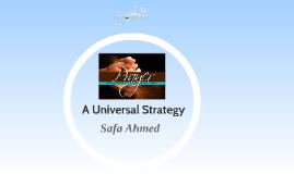 PRAYER: A UNIVERSAL STRATEGY