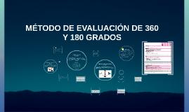 Copy of MÉTODO DE EVALUACIÓN DE 360 Y 180 GRADOS