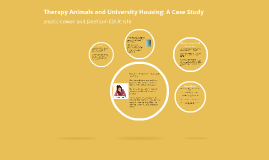 Therapy Animals and University Housing