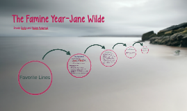 The Famine Year-Jane Wilde
