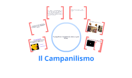 Copy of Il campanilismo