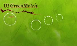 Sistema UI GreenMetric