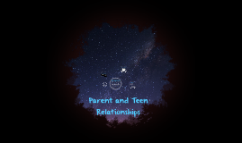 Parent and Teen Relationships
