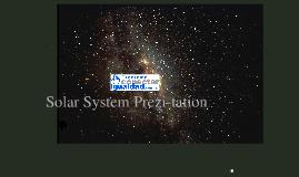 Pisos Tecnológicos: Solar System Prezintación