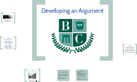 Public Housing - Developing an Argument