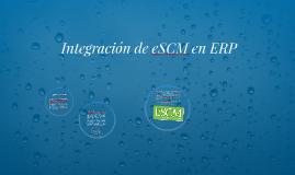 Integración de eSCM en ERP