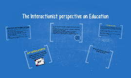 The Interactionist perspective on Education