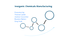 Inorganic Chemicals Manufacturing (Final)