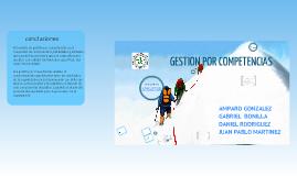 Copy of GESTION POR COMPETENCIAS