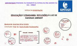 UNIVERSIDADE REGIONAL DO NOROESTE DO ESTADO DO RIO GRANDE DO