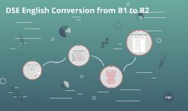 DSE English Conversion B1 to B2