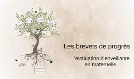 Les brevets de progrès...de évaluation bienveillante en maternelle