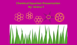 Sirena's Chemical Equation Presentation