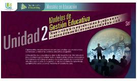 Modelo de Gestion Educativa. EC2