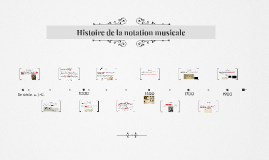 Histoire de la notation musicale