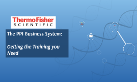 PPI Business System Training