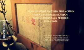 PLAN DE MEJORAMIENTO FINANCIERO