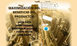 Beneficios del productor