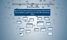 Democracia Electronica y Campañas Electorales