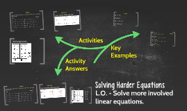 Solving Harder Equations