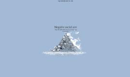 Negativ social arv