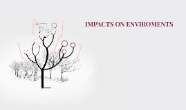 IMPACTS ON ENVIROMENTS