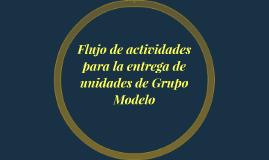 Flujo de actividades para la entrega de unidades de Grupo Mo