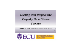 Leading with Respect and Empathy on a Diverse Campus (< 60 minute version)