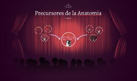 Precursores de la Anatomia