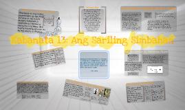 Kabanata 13: Ang Sariling Simbahan