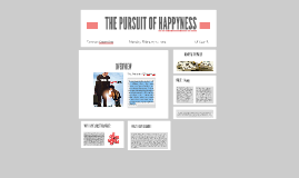 Copy of THE PURSUIT OF HAPPYNESS