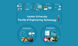 Copy of Leuven University - Faculty of Engineering Technology