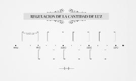 REGULACION DE LA CANTIDAD DE LUZ