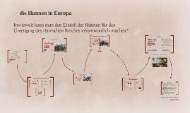 Hunnen in Europa
