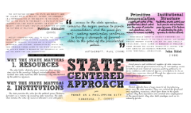 State Centered Approach