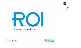 Social Media ROI @ Guanajuato Digital
