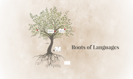 roots of languages