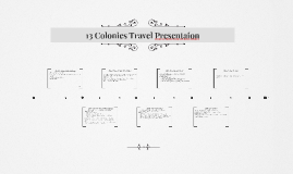13 Colonies Travel Presentaion