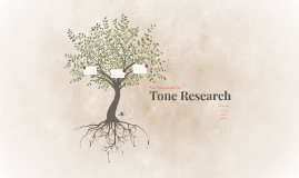 Tone Research