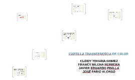 CARTILLA TRANSFERENCIA DE CALOR